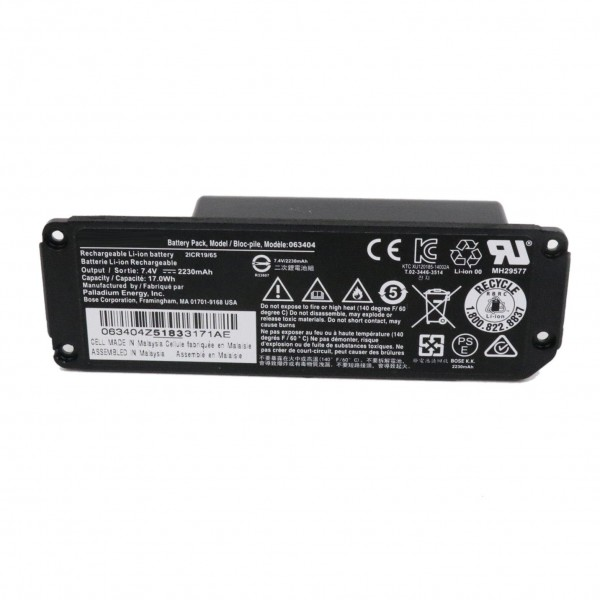 063404 061384 061385 061386 063287 Battery For Bose SoundLink Mini one Speaker