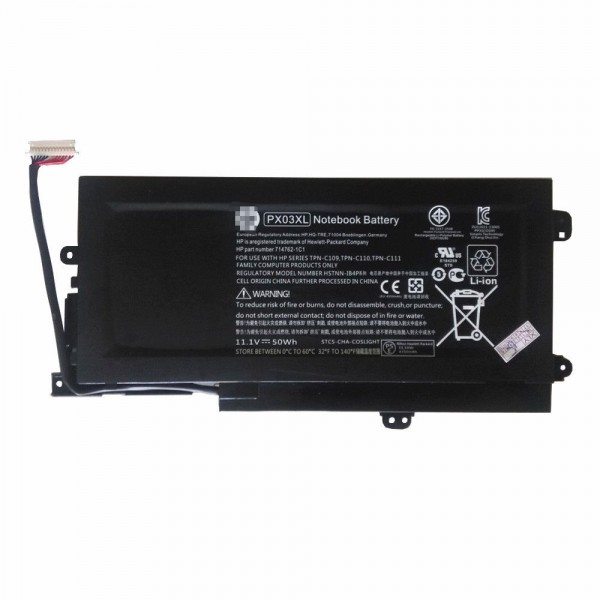 Replacement New HP ENVY 14 Sleekbook M6-K K010dx Series PX03XL Battery