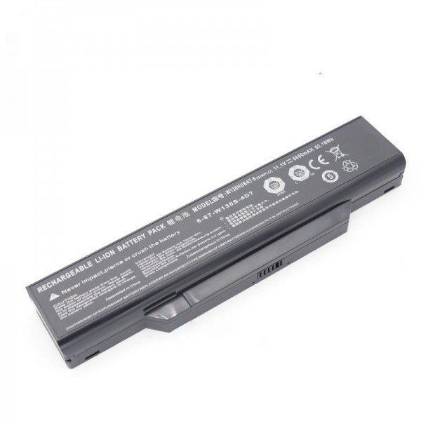 Clevo W130HUBAT-6 6-87-W130S-4D73 11.1V 5600mAh 62.16Wh Battery