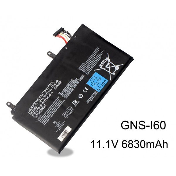 GNS-I60 Battery For Gigabyte P35G P35K P35N P35W P35X 6830mAh 75.81Wh