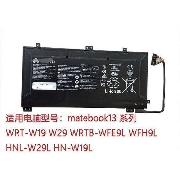 HUAWEI HB4593J6ECW MateBook 13 WRT-WX9 MateBook13 2020 Laptop Battery