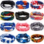 10pcs/lot High Quality Magic Scarf Tube Sport Headband Outdoor Seamless Mask Multifunctional Headwear