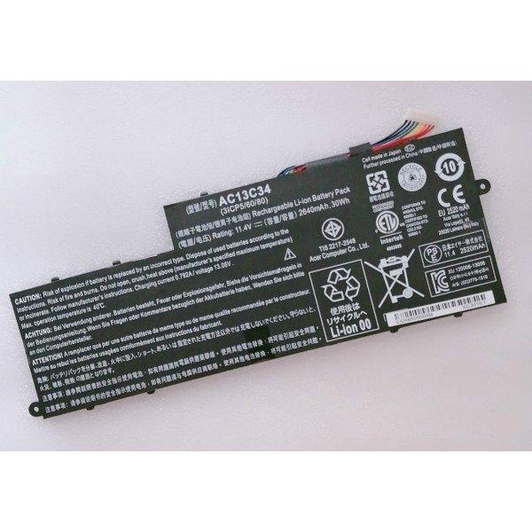 AC13C34 30Wh Battery for Acer Aspire V5-122P E3-111 Aspire V3-112
