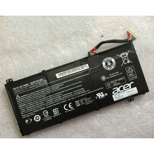 AC14A8L 52.5Wh Replacement Battery for Acer V15 Nitro Aspire VN7-571G VN7-591G VN7-791