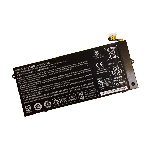 "Replacement AP13J3K 11.25V 45Wh Battery for Acer Chromebook 11.6"" C720 C720P"