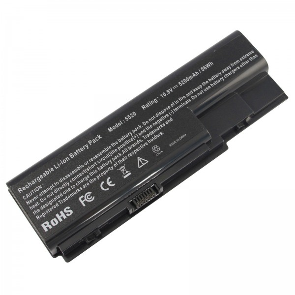 AS07B31 AS07B32  6 Cell Replacement Battery for Acer Aspire 5520 5920 6920 7520