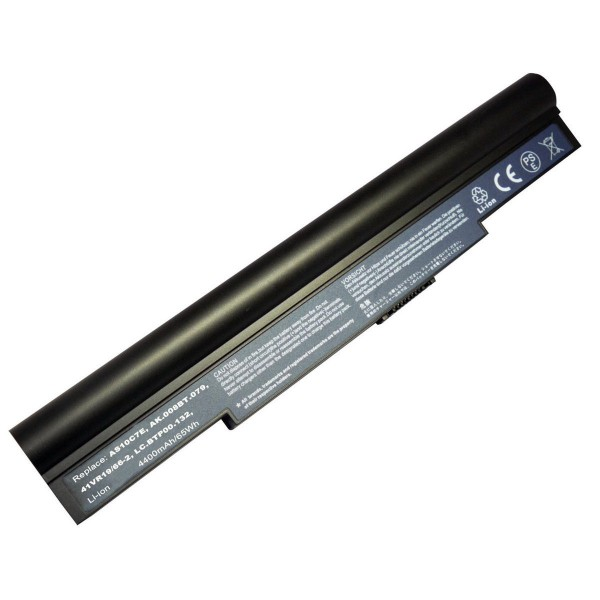 AS10C5E AS10C7E Replacement New Battery for Acer Aspire 5943G 8943G 5950G 8950G 14.8V 4400mAh 8 Cell