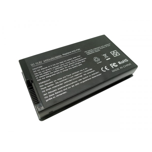 A32-A8 A32-F80 A32-F80A Replacement Battery for Asus F80S F80L F80Q F81SE F83E K41 K41E X61G X83S X85E X88S