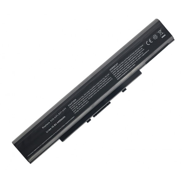 6 Cell A32-U31 A42-U31 Replacement Battery for Asus P41F P41J P41JC P41JG U31E U31F U41JF P31S