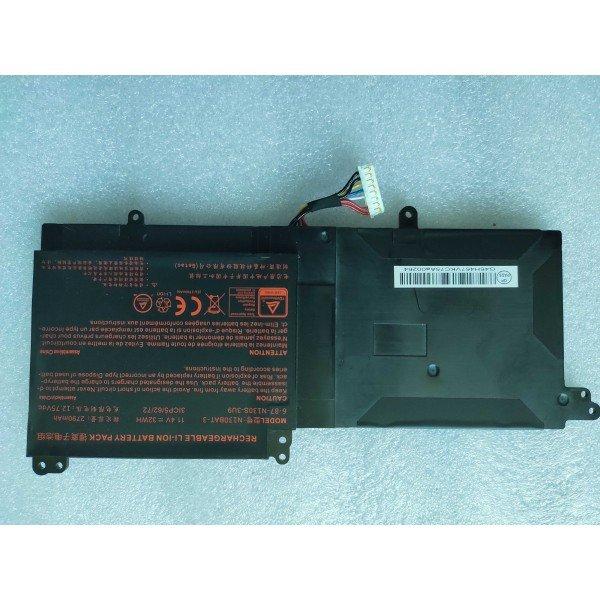 N130BAT-3 Replacement Battery For Clevo N130BU N130WU N131BU N131WU