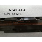 Clevo 6-87-N24JS-4EB4 N240BAT-4 N240BAT-3 N751BU Laptop Battery
