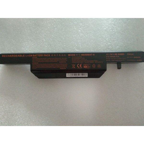 Clevo N650BAT-6 6-87-N650S-4U4 6-87-N650S-4UF1 laptop battery