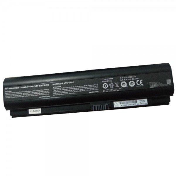 Clevo N950BAT-6 N950KP6 N950TD Hasee ZX7-G4T1 G4G1 laptop battery