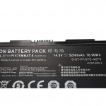 Clevo P157SMBAT-8 6-87-P157S-4273 P177SM HASEE K780E SAGER NP8250 Battery