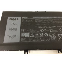 Replacement Dell 11.4V 74Wh  71JF4 Battery