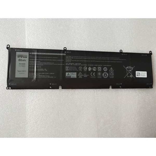 Dell 69KF2  XPS 15 9500 Core i7 Precision 5550 laptop battery
