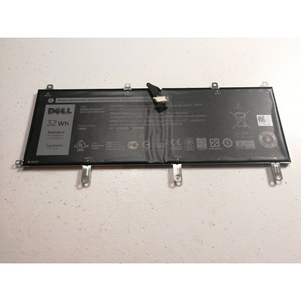 32Wh Dell 8WP5J Venue 10 Pro 5000 5055 69Y4H laptop battery