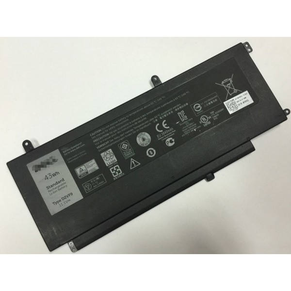 43Wh D2VF9 Replacement Battery for Dell Inspiron Vostro 5459 D2VF9
