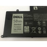 Replacement Replacement 58Wh Dell Latitude 3550 3550-0123 Series 0PD19 Battery