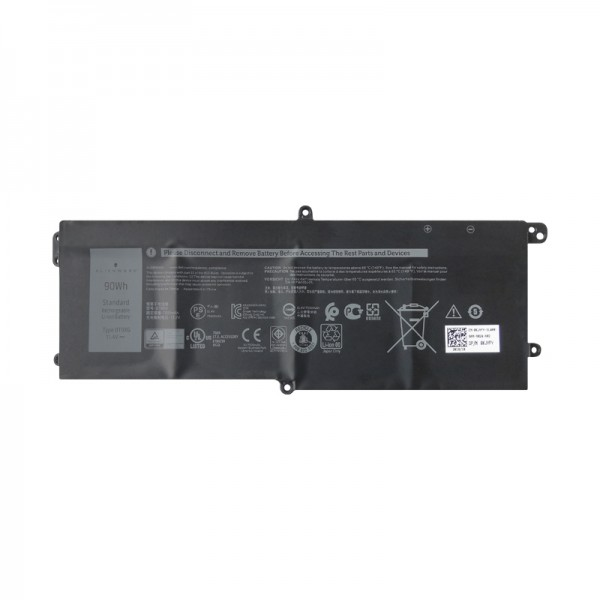 Dell DT9XG 07PWXV 7PWKV Alienware Area-51m laptop battery