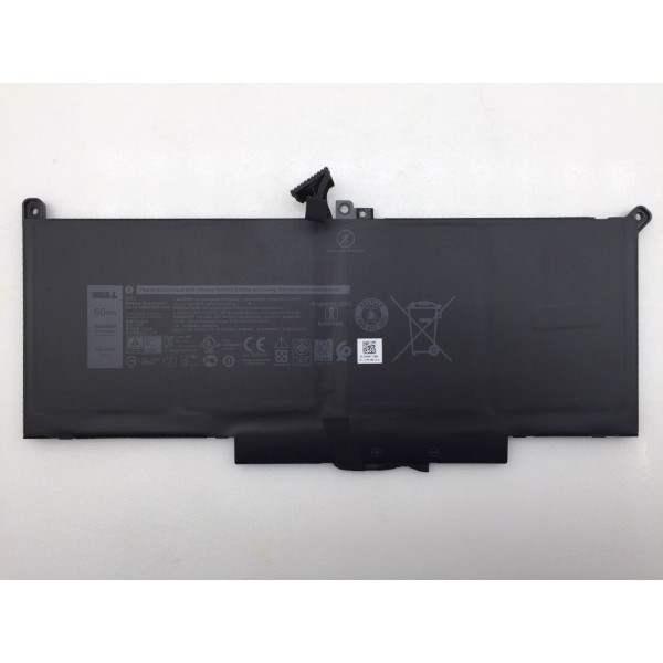 Dell Laitutde 7280 7380 7480 2X39G DM6WC F3YGT 60Wh 7.6V  Laptop Battery