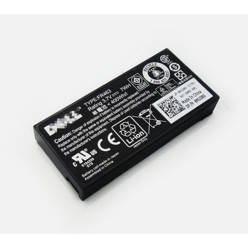Replacement New FR463 Battery for Dell Perc H700 Poweredge