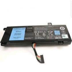 Replacement Dell 11.1V 69Wh 8X70T Battery