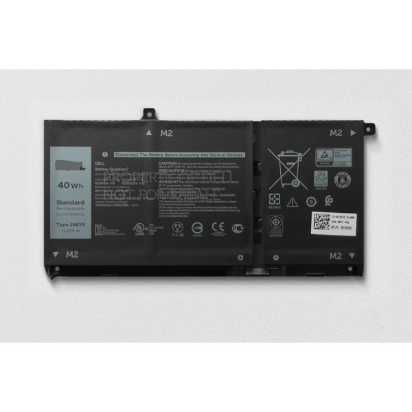Dell JK6Y6 C5KG6 CF5RH Inspiron 13 5301 Latitude 15 3510 Battery