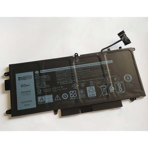 Replacement Dell K5XWW Latitude 7389 L3180 laptop battery