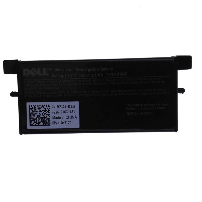 Replacement M9602 3 7V 7Wh Battery For Dell PERC 6/E PERC H700