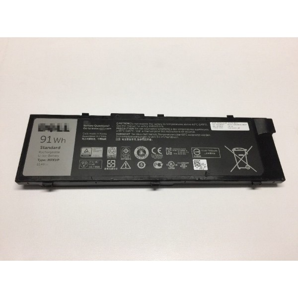 Replacement Dell RDYCT MFKVP Precision 7510 91Wh Standard Battery