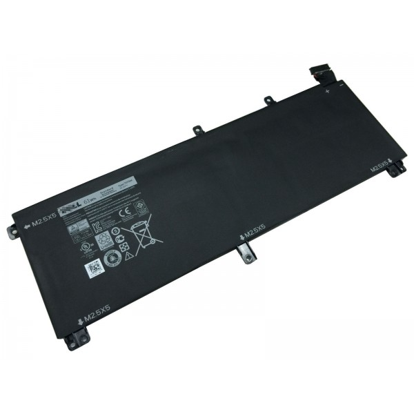 Replacement New Dell T0TRM H76MV XPS 15 9530 Precision M3800 61Wh Battery