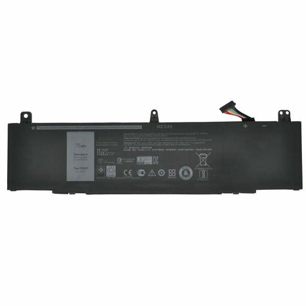 TDW5P 76Wh Replacement Battery For Dell Alienware 13 R3 ALW13C Series
