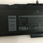 VG93N Dell Precision 15 3520 3530 WFWKK laptop battery