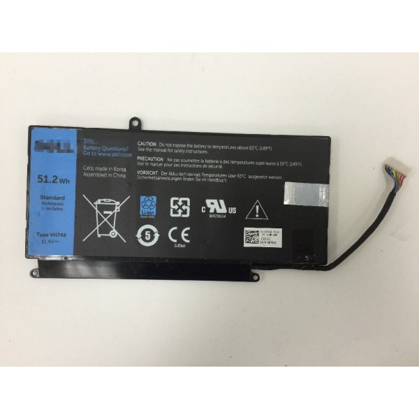 Type VH748 52.1Wh Replacement Battery For Dell Inspiron 14-5439 Vostro 5460 5560