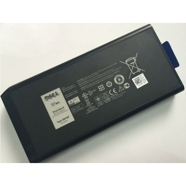 97Wh 4XKN5 X8VWF VCWGN 5XT3V Battery for Dell Latitude E5404 E7404