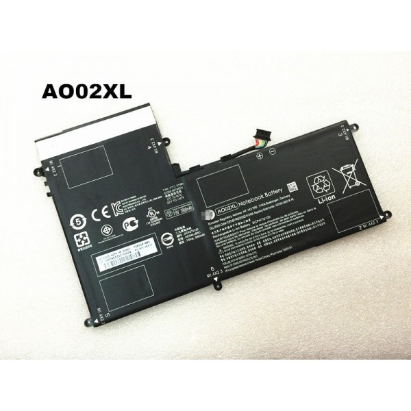 31Wh Replacement AO02XL HSTNN-LB5O Battery For HP ElitePad 1000 G2