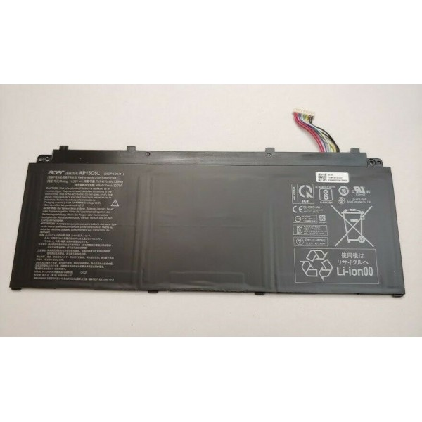 Acer Chromebook R13 CB5-312T AP15O5L 11.55V 4670mAh 53.9Wh Battery