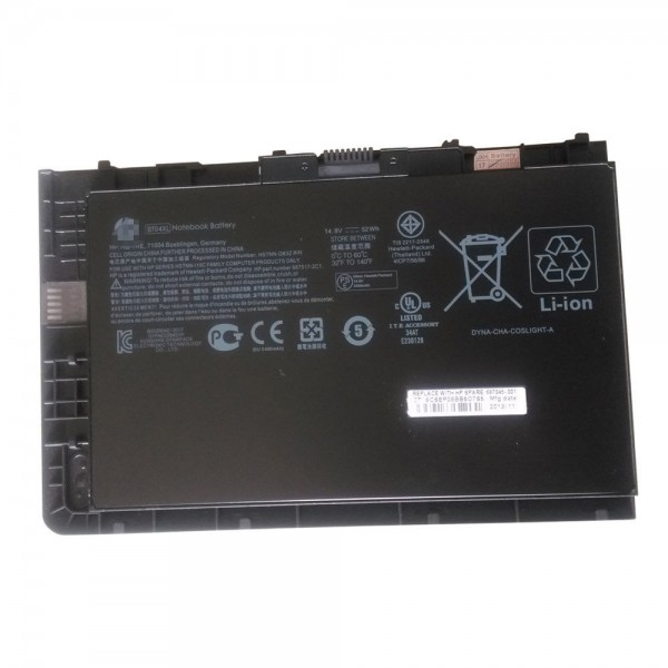 Replacement HP EliteBook Folio 9470m BT04XL BA06XL 687945-001 Battery
