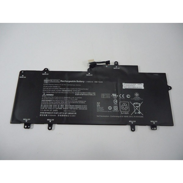 37.3Wh BU03XL 816609-005  Replacement Battery for HP Chromebook 14 G4