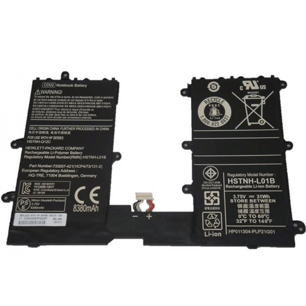 31Wh CD02 CD02031 HSTNH-L01B Replacement Battery For HP Omni10 Pro Tablet 610