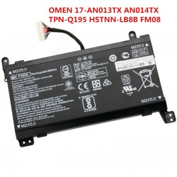 Replacement  Hp 14.6V 93.22Wh 5700mAh FM08 Battery