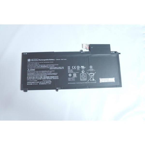 Replacement Battery for HP Spectre x2 Detachable 12 HSTNN-IB7D ML03XL 42Wh