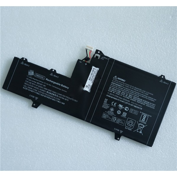 HP 863280-855 863167-171 HSTNN-IB7O OM03XL 0M03XL Laptop Battery