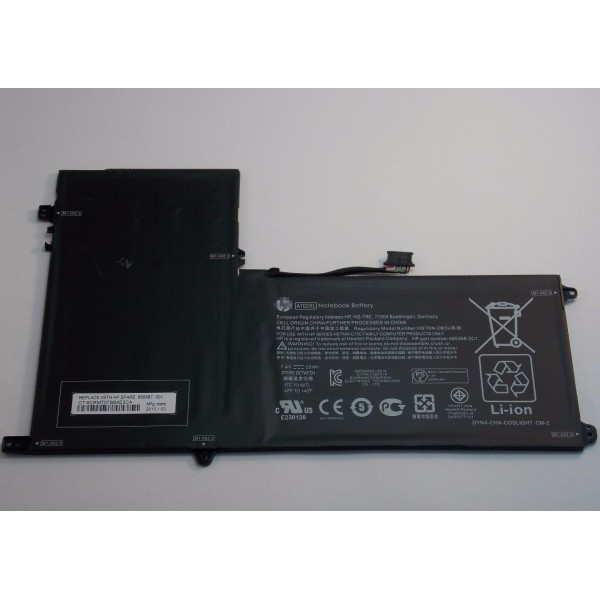 AT02XL HSTNN-C75C HSTNN-IB3U Replacement Battery For HP ElitePad 900 G1 25Wh 7.4V