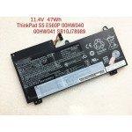 00HW041 SB10J78989 Battery for Lenovo Thinkpad E560P ThinkPad S5