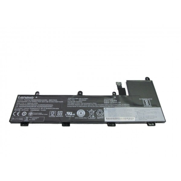 00HW044 Replacement Battery for Lenovo ThinkPad Yoga 11e 20G8-S03400 11.4V 3685mAh