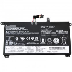 Replacement  Lenovo 15.28V 2095mAh 32Wh SB10L84123 Battery