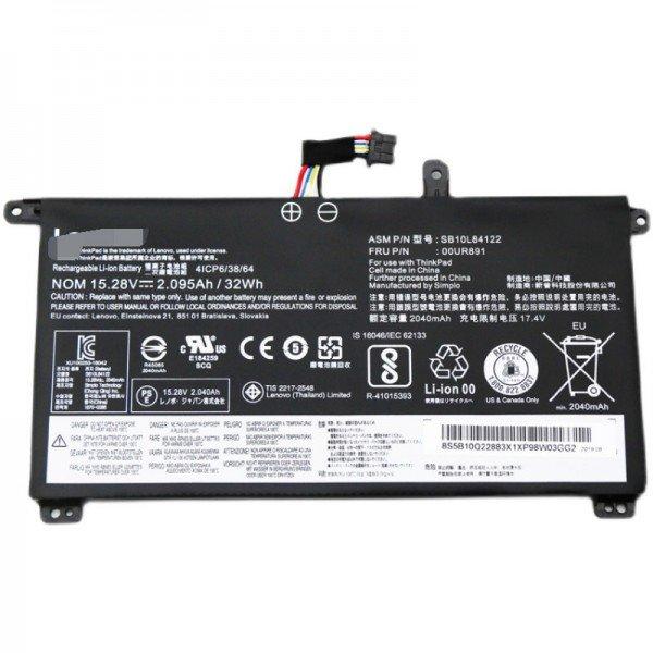 Lenovo 00UR890 00UR891 00UR892 ThinkPad P51s T570 32Wh laptop battery