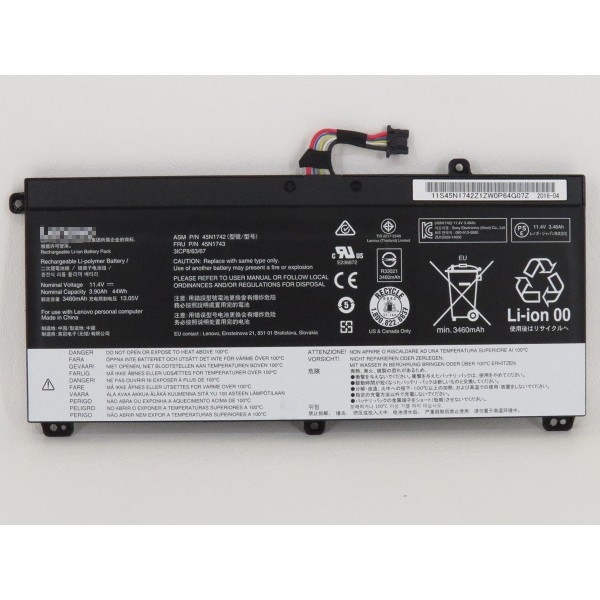 45N1742 45N1743 44Wh Replacement Battery for Lenovo ThinkPad P50S T440P